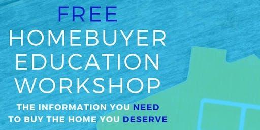 Free Home-buyer Education Workshop