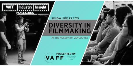 Diversity in Filmmaking Day | VAFF Industry Insight Panel Series & MAMM Kick-Off tickets