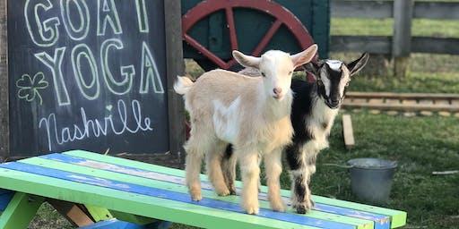 Goat Yoga Nashville- July Jubilee 2019