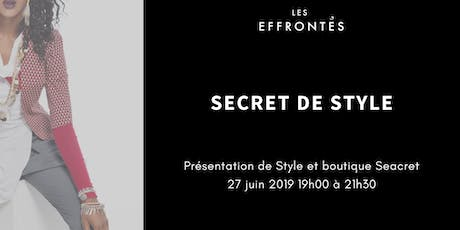 Secret de Style ST-JEAN-SUR-RICHELIEU tickets