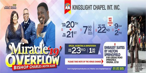 MIRACLE OVERFLOW 2019 WITH BISHOP CHARLES AGYINASARE