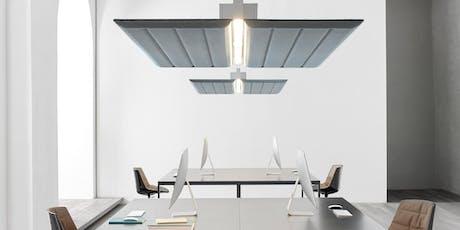Diner-formation sur l'éclairage et l'acoustique-accrédité pour architectes. billets