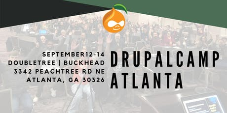 2019 DrupalCamp Atlanta tickets