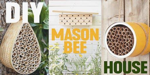 Pollinator Week: DIY Mason Bee House