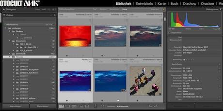 Fotoverwaltung und Archivierung mit Adobe Lightroom Classic CC und Adobe Bridge, der professionelle Workflow  Tickets
