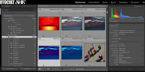 Fotoverwaltung und Archivierung mit Adobe Lightroom Classic CC und Adobe Bridge, der professionelle Workflow
