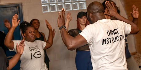 AFRO MOTION Dance Fitness Workout Party! tickets