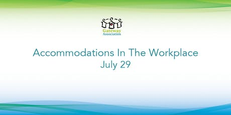Accommodations In The Workplace tickets