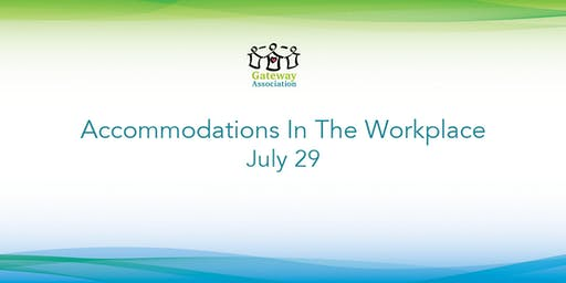 Accommodations In The Workplace