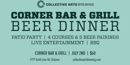 Collective Arts BBQ Brewmaster's Dinner