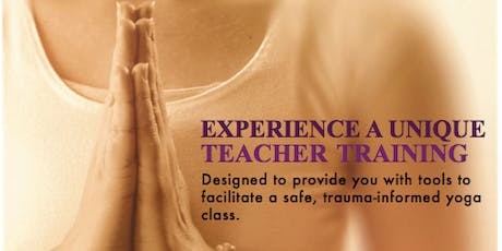 Exhale to Inhale Trauma-Informed Yoga Teacher Training @ Brick City Yoga tickets