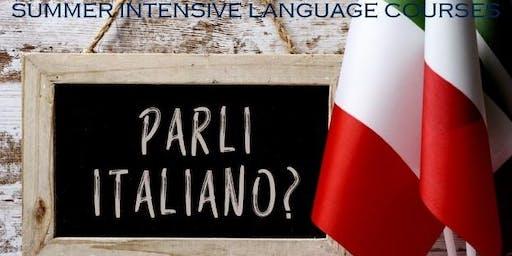 ITALIAN INTENSIVE LANGUAGE COURSE (Absolute Beginners - 1 week)