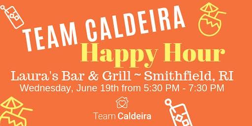 Team Caldeira Happy Hour