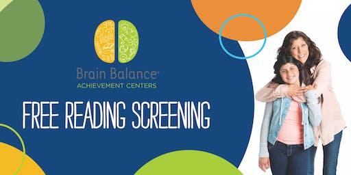 Free Kids Reading Skills Screening - Brain Balance Centers