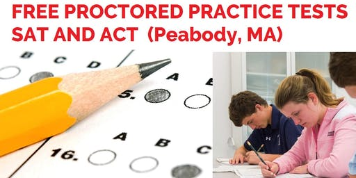 Free Proctored Practice Test: SAT or ACT (Jul 13)