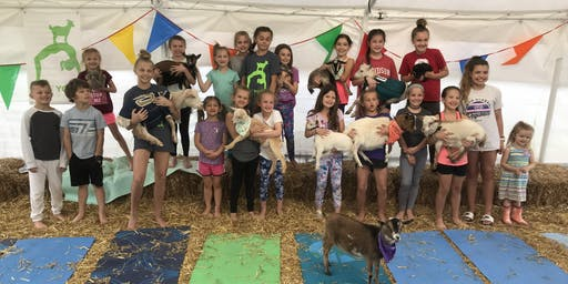 Goat Yoga Nashville- July Jubilee 2019