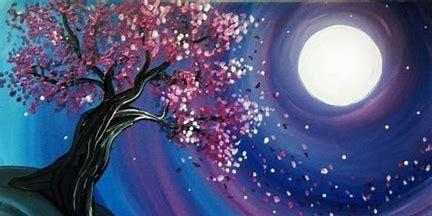 Tree in Moonlight - Cheddars Ashland -- Paint night