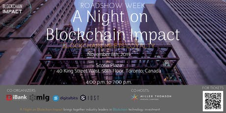 Roadshow Week: A Night on Blockchain Impact -Blockchain Meets Loyalty tickets