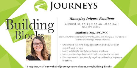 Managing Intense Emotions tickets