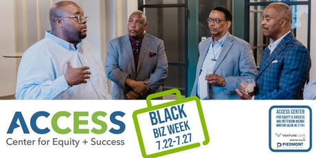 ACCESS Black Biz Week: NC Department of Revenue Business Tax Essentials Workshop tickets