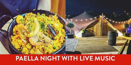 Paella Night in the Barnacles Bedouin Tent with Live Music tickets