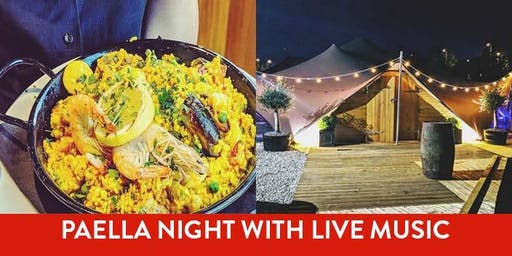 Paella Night in the Barnacles Bedouin Tent with Live Music