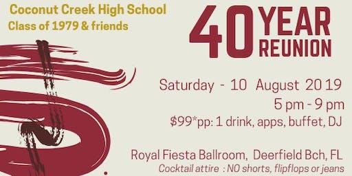 CCHS 40th Reunion