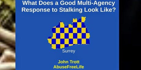 Stalking Training - Multi-Agency Response - Surrey tickets