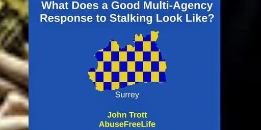 Stalking Training - Multi-Agency Response - Surrey