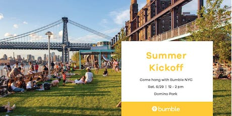 Summer Kickoff with Bumble NYC tickets