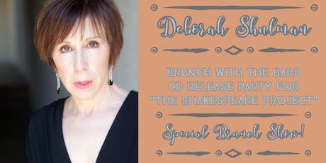 """Brunch with the Bard  - CD Release Party for """"The Shakespeare Project"""" tickets"""