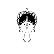 GÜNGUR, Indian Fine Arts logo