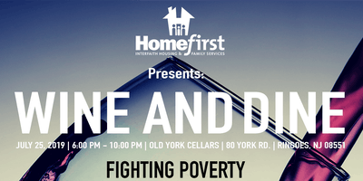 Homefirst Presents: Wine and Dine