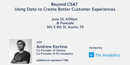 CX Meetup: Using Data to Create Better Customer Experiences