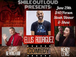 Maker's Mountain Eatery Presents Smile Out Loud Comedy Dinner
