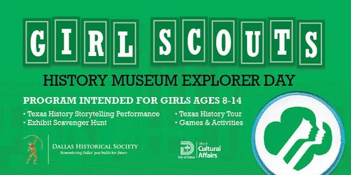 Girl Scouts: History Museum Explorer Day