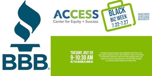ACCESS Black Biz Week:Better Business Bureau – How trust can make you a better business