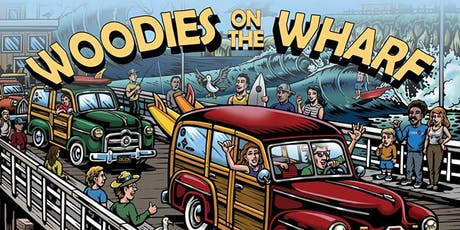 25th Anniversary Woodies on the Wharf tickets