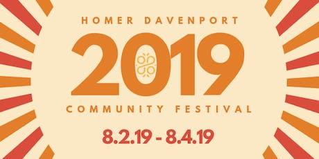 Homer Davenport Days tickets