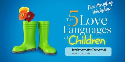 FREE Parenting Workshop:  Speak Your Child's Love Language