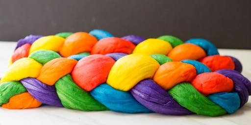 Pride Rainbow Challah Bake & Supporting Community