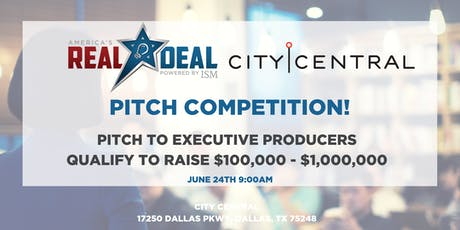 America's Real Deal Pitch Event tickets
