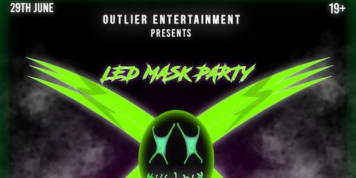 X led mask party