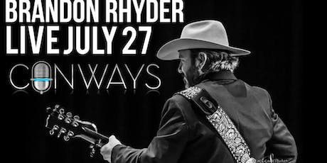 Brandon Rhyder Live In New Braunfels, TX tickets