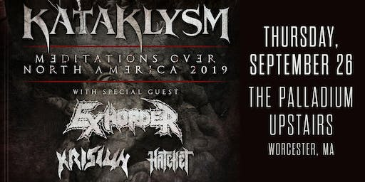 KATAKLYSM - MEDITATIONS OVER NORTH AMERICA 2019