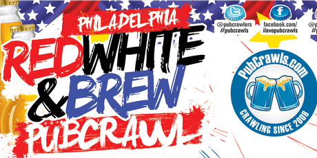 Philadelphia July 4th Weekend Pub Crawl 2019 tickets