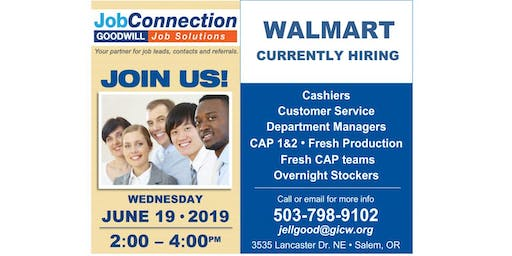 Hiring Event - Salem - 6/19/19 (PM Event)