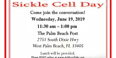 World Sickle Cell Day presented by the Sickle Cell Foundation of Palm Beach