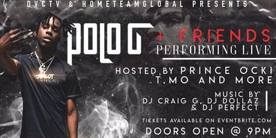 POLO G PERFORMING LIVE