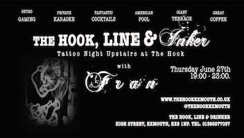 """The Hook, Line & Inker"" Flash Tattoo Sale"